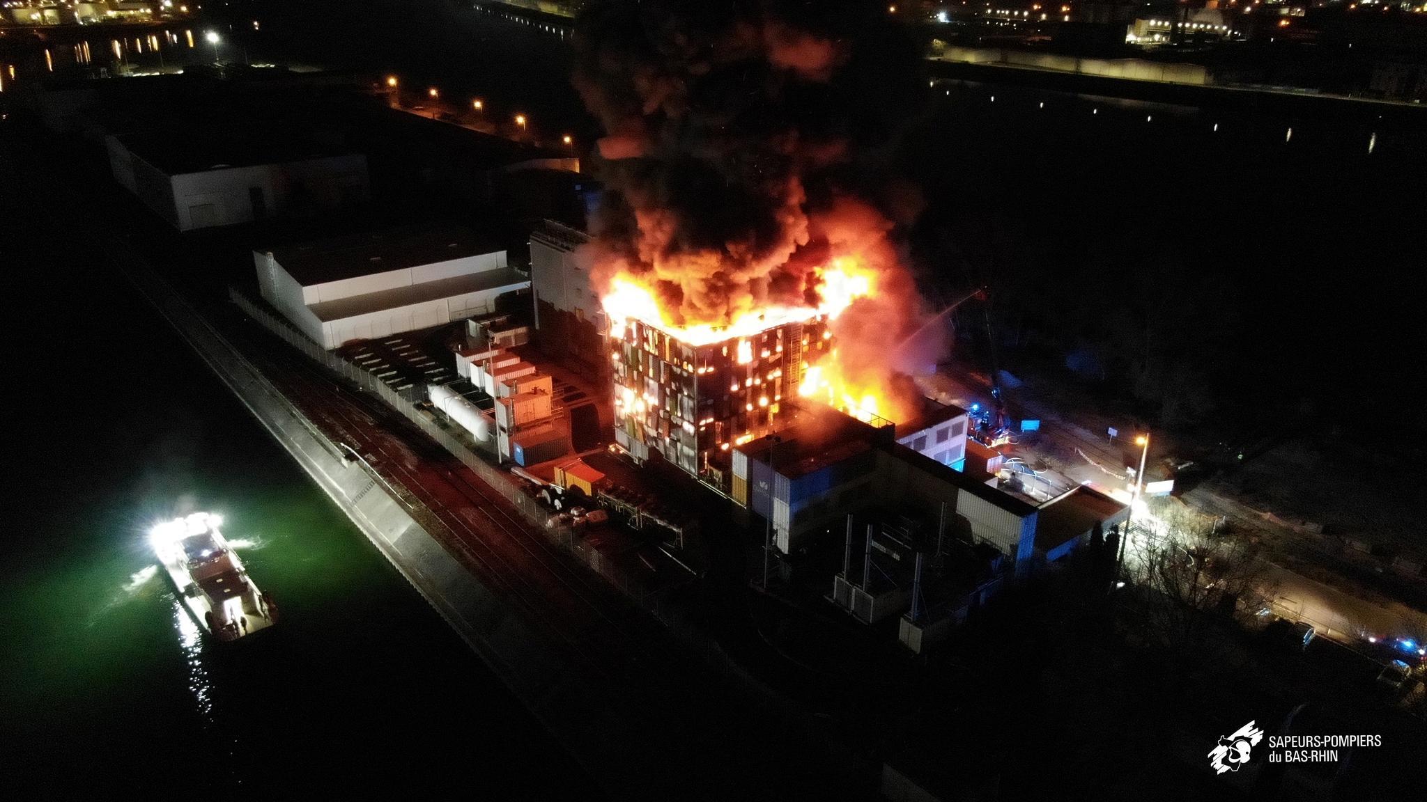 OVH Data Center Fire in Europe
